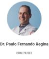 Paulo Fernando Regina: Cirurgião Geral, Cirurgião do Aparelho Digestivo e Coloproctologista
